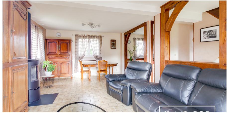Maison Type 4 de 96 m²  sur sous-sol complet à Petit-Couronne