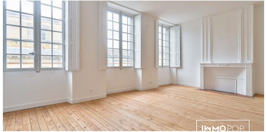 Appartement Duplex Type 4 de 123 m² + cave + local vélos à Bordeaux