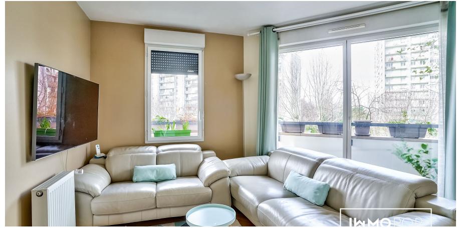 Appartement Type 4 de 70 m² + parking à Vitry-sur-Seine
