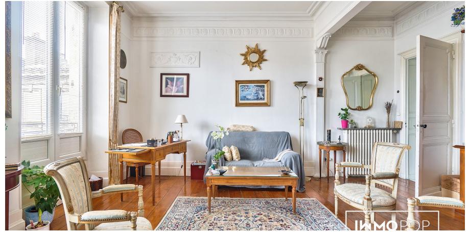 Appartement Type 4 de 129 m² + cave à Bordeaux