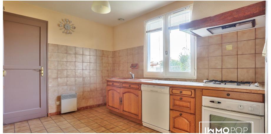 Maison plain pied type 4 de 90 m² + garage à St-Médard-en-Jalles