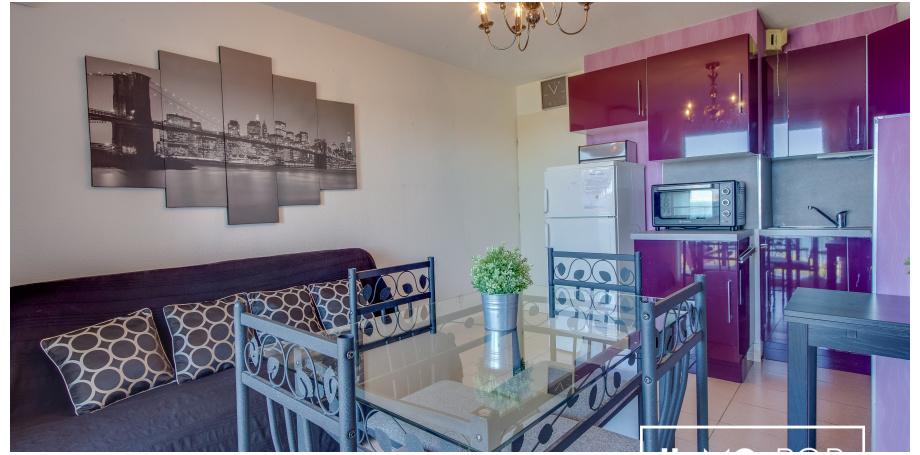 Appartement Type 2 meublé de 32 m² à Banuyls-sur-Mer