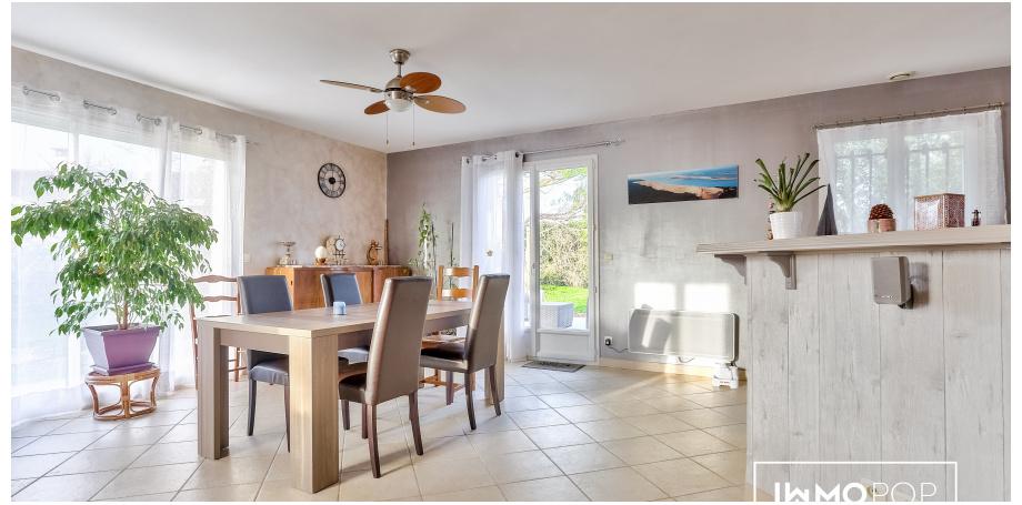 Maison plain pied Type 5 de 135 m² à St-Quentin-de-Baron