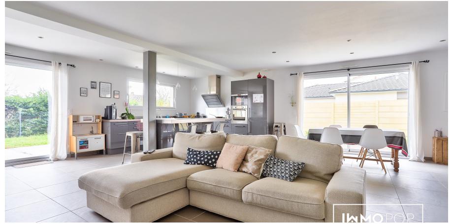 Maison Type 6 de 134 m² + garage à Saint-Médard-en-Jalles