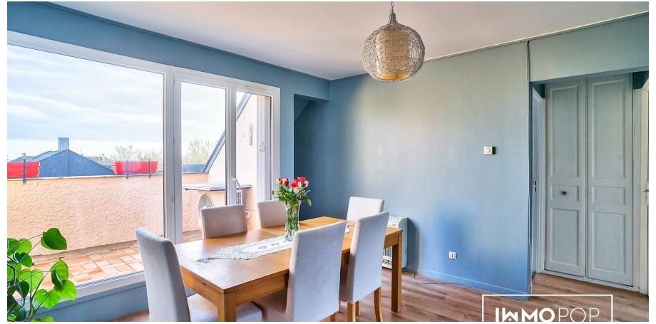 Appartement Type 3 de 61 m² + cave à Etampes
