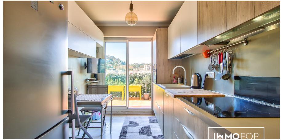 Appartement Type 3 de 72 m² + cave au centre de Nice