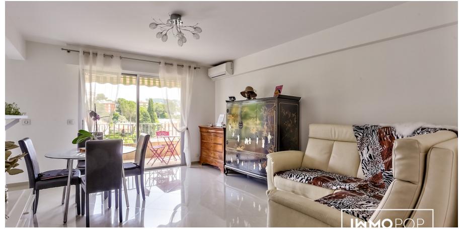Appartement type 4 de 80 m² + garage boxé - Le Cannet