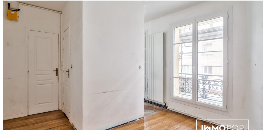 Appartement Type 3 de 38 m² + cave à Paris 14ème