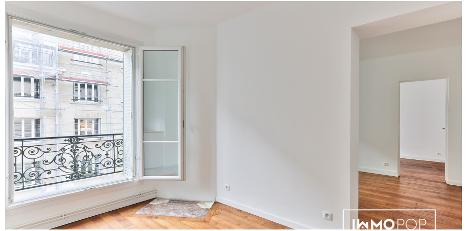 Appartement Type 3 de 38 m² à Paris 14ème