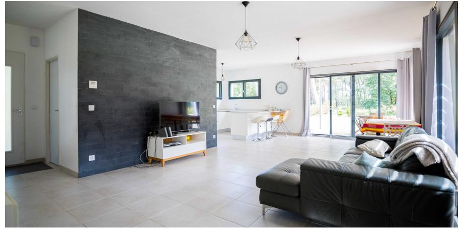 Maison plain pied Type 5 de 128 m² + dépendance à Audenge