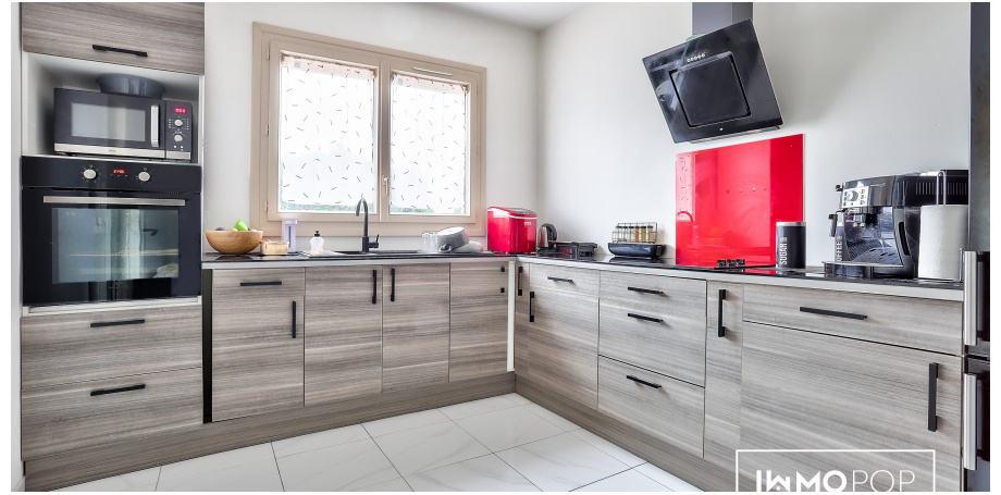 Maison plain piedType 5 de 100 m² + garage à St-Médard-en-Jalles
