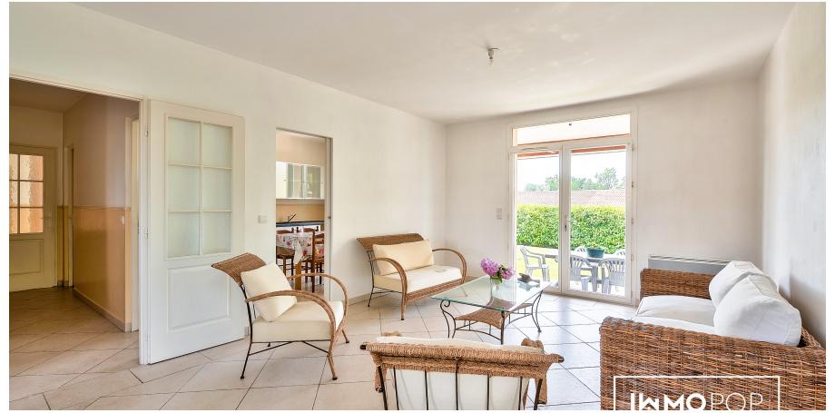 Maison plain pied Type 5 de 120 m² + garage à Saint-André-de-Cubzac