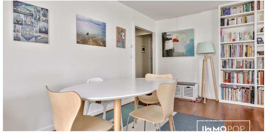 Appartement Type 4 de 88 m² + parking à Paris 15ème