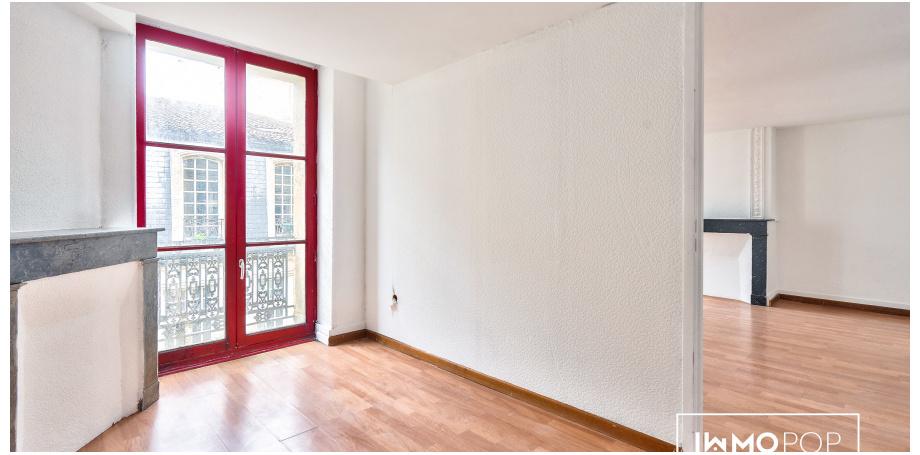 Appartement Type 2 de 38 m² + cave à Bordeaux Centre