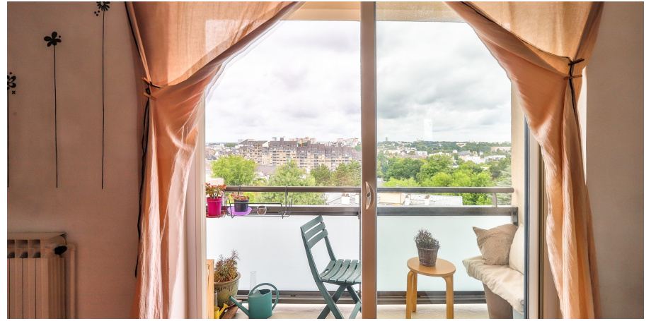 Appartement Type 4 de 66 m² + cave au centre de Rennes