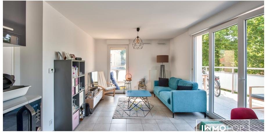 Appartement Type 3 de 57 m²+ parking à Marseille 10 ème
