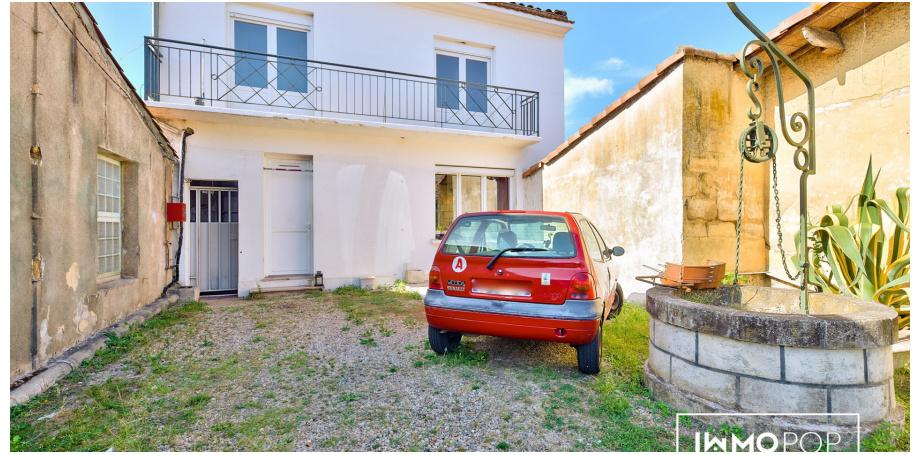 Maison Type 5 de 80 m² + cave à Pessac