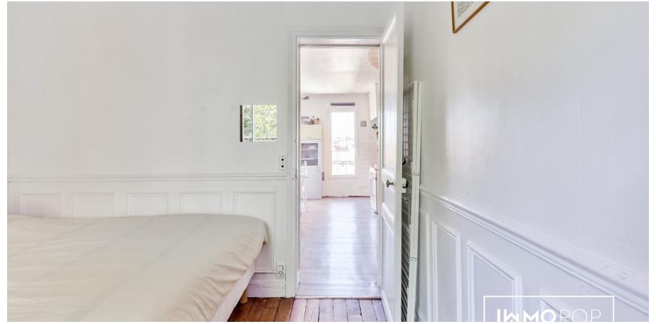 Appartement Type 2 de 33 m² à Paris 13 ème