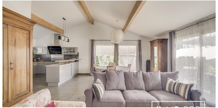 Maison plain pied Type 3 de 89 m² + garage à St-Quentin-de-Baron
