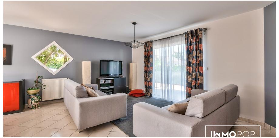 Maison plain pied Type 5 de 118 m² à La Lande de Fronsac