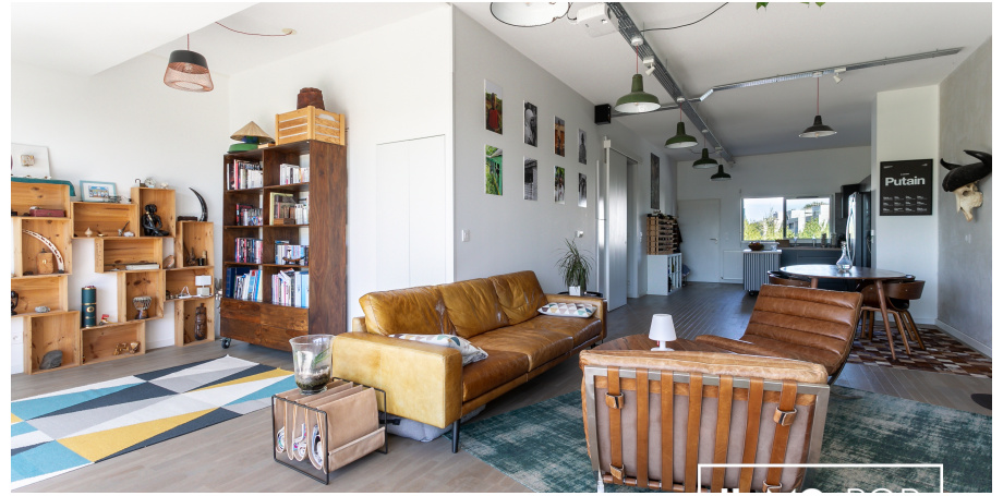 Appartement Type 2/3 de 89 m² avec terrasse de 34 m² et parking à Bègles