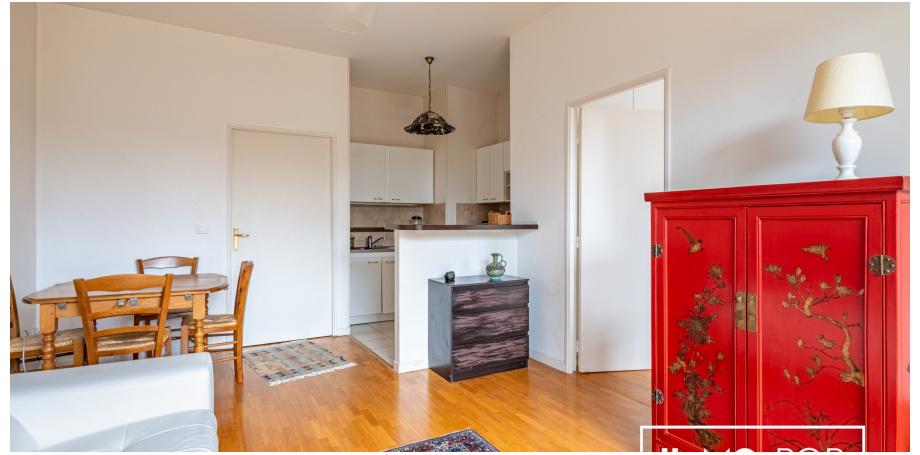 Appartement Type 2 de 41 m² + parking + cave à Deuil-la-Barre