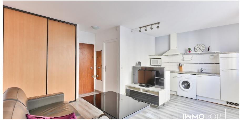 Appartement Type de 23,5 m² à Paris 11ème