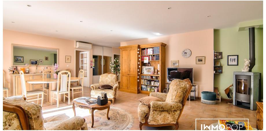 Maison plain pied type 5 de 138 m² + garage à Pompertuzat