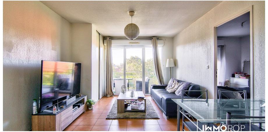 Appartement Type 2 de 47 m² + parking à Cugnaux
