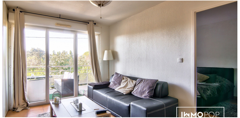 Appartement Type 2 de 47 m² + parking à Cugnaux