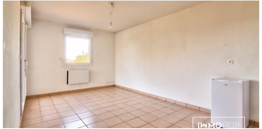 Appartement T1 bis de 34 m² + parking + cellier à Cugnaux