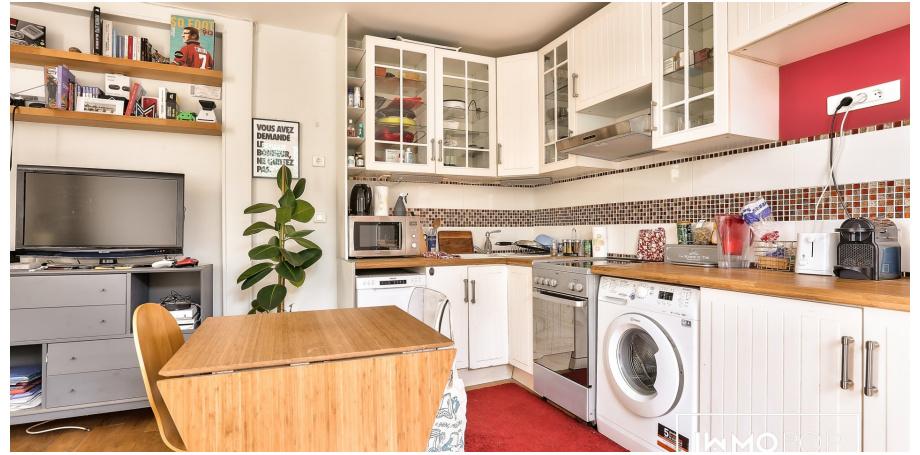 Appartement Type 2 de 44 m² à Paris 18ème