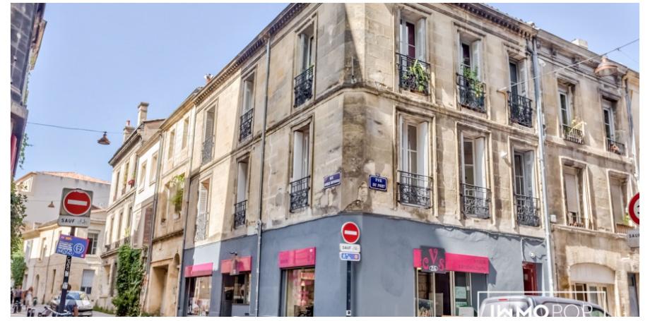 Appartement Type 3 de 68,48 m² au centre de Bordeaux