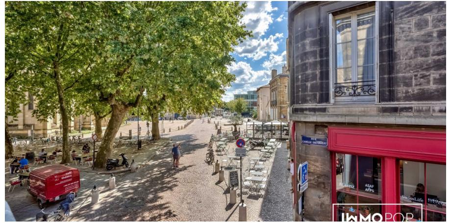 Appartement Type 3 de 72 m² au centre de Bordeaux