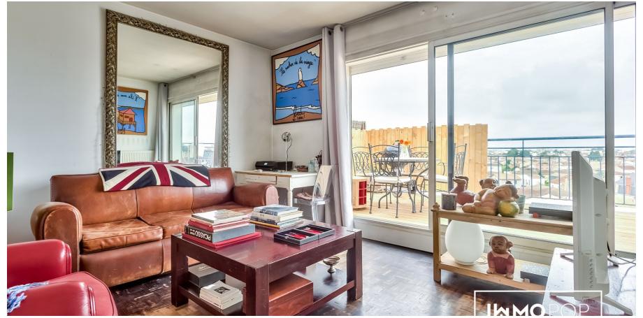 Appartement Type 2 de 48 m² + cave à Bordeaux