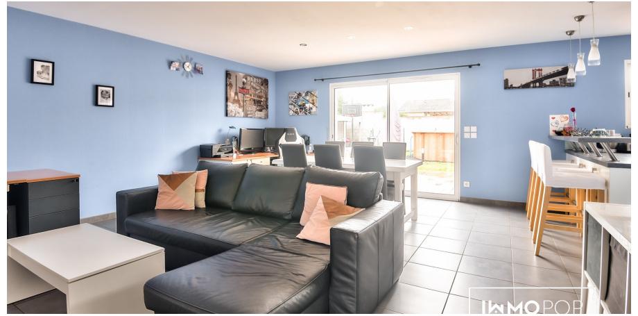 Maison plain pied Type 4 de 89 m² + garage + piscine hors sol  à Castelnau-de-Médoc