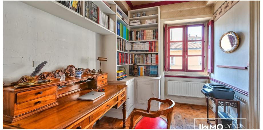 Appartement duplex Type 5+au coeur de Lyon 1er arrondissement