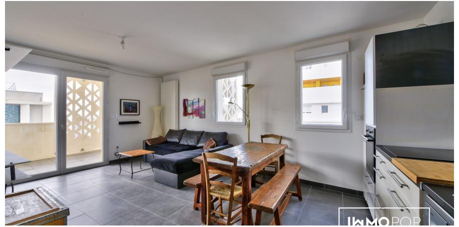 Appartement Type 3 de 59 m² + parking sous-sol à Marseille 15ème