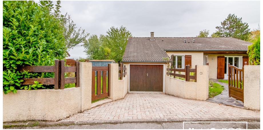 Maison d'architecte Type 8 de 122 m² + garage à Châlons-en-Champagne