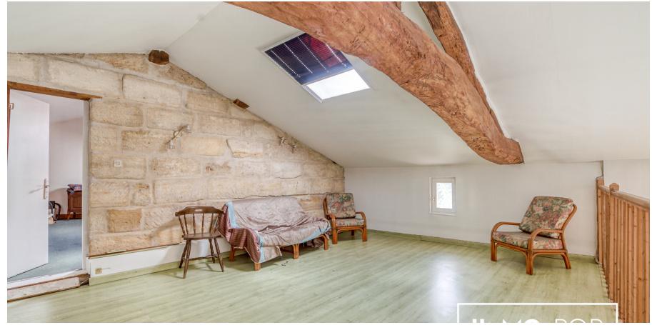 Maison Type 5 de 165 m² + longère + piscine à Porchères